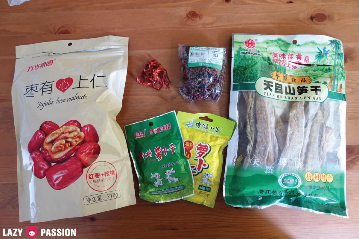 Food souvenirs from China